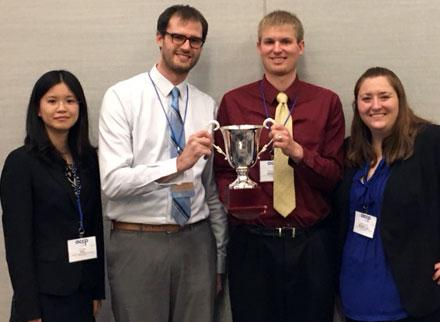 U of M Student team at AACP