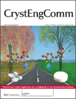 CrystEngComm Cover, Issue 7, 2012