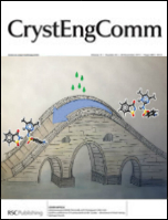 CrystEngComm Cover, Issue 13, 2019