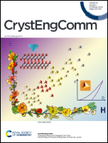 CrystEngComm Volume 22 Number 7 Cover