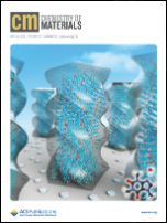 Chemistry of Materials Cover May 2019