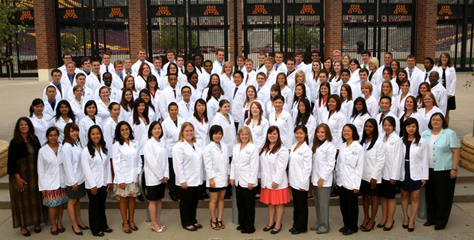 White Coat Ceremony group photo