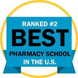 Ranked #2 Best Pharmacy School in the US