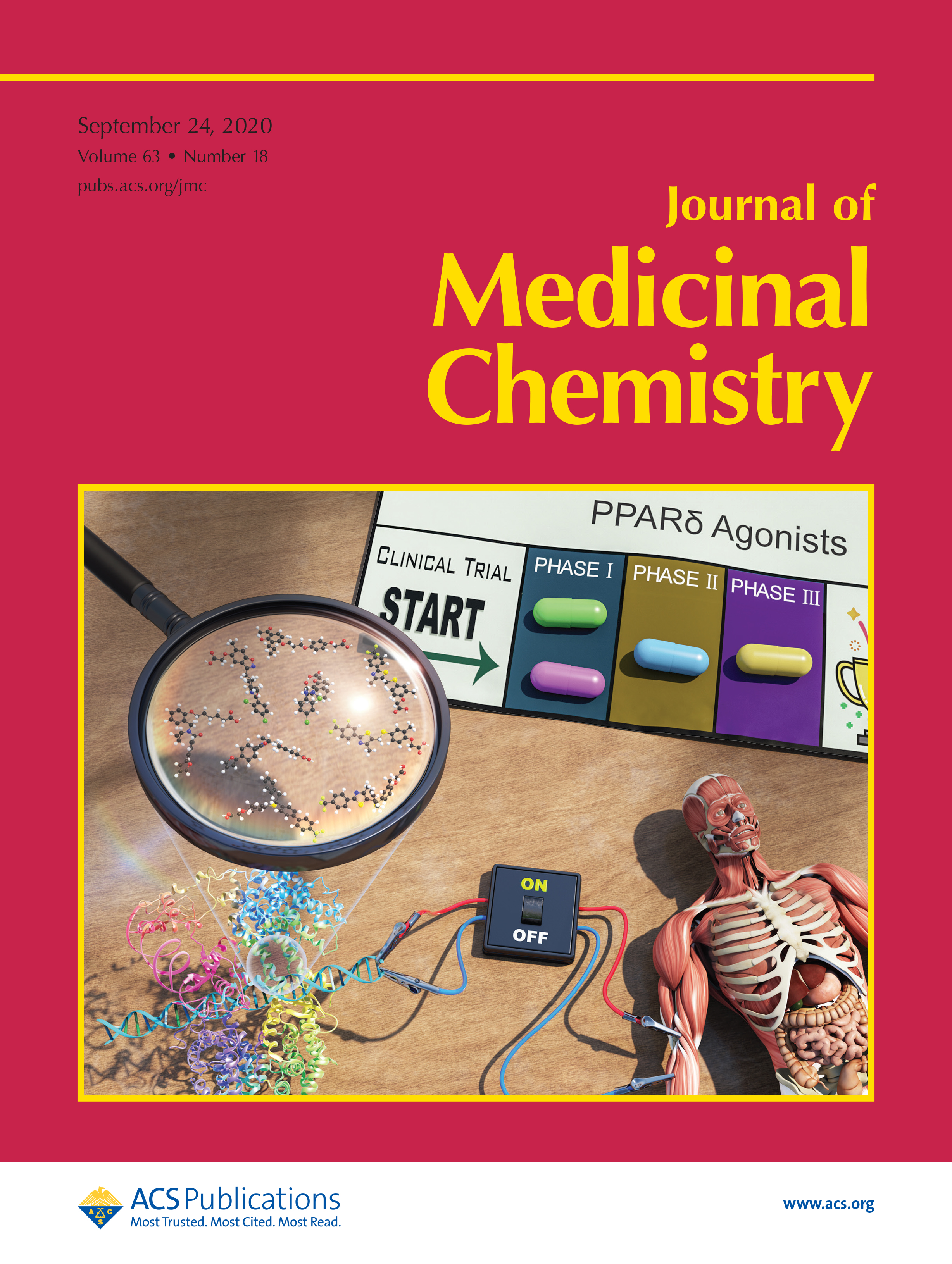 ACS Journal of Medicinal Chemistry Journal Cover, September