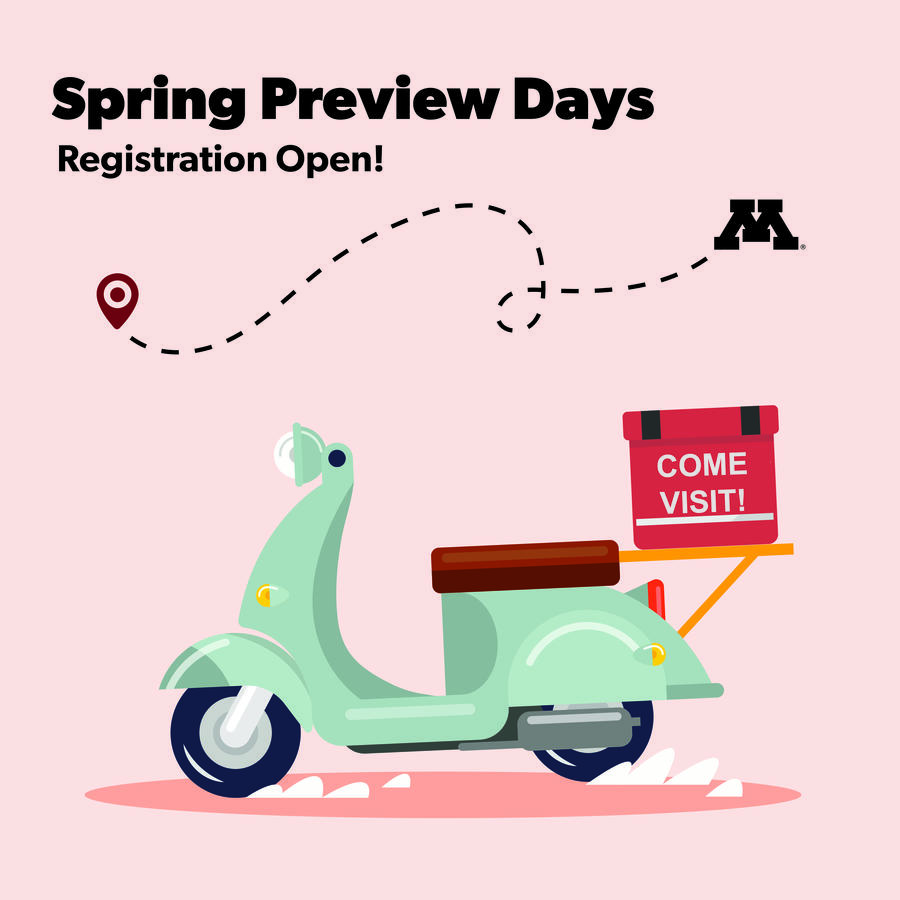 Visit us on Preview Day
