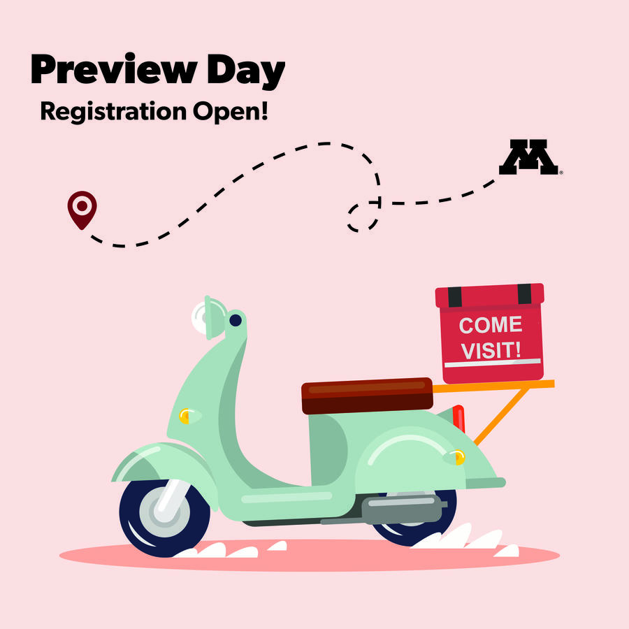 Preview Day Registration Open