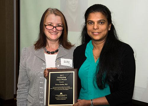 Junior Mentor of the Year: Dr. Reena Kartha