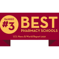 ranked 2 best pharmacy school U.S. news and world report