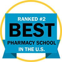 Ranked #2 Pharmacy School in the US logo