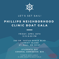 PHILLIPS NEIGHBORHOOD CLINIC BOAT GALA